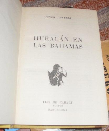 club del crimen - huracán en las bahamas