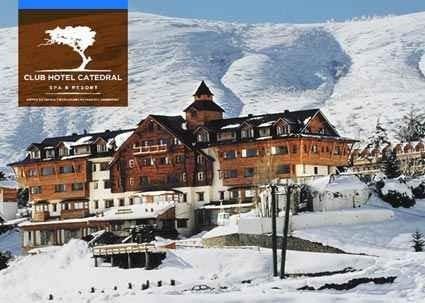 club hotel catedral para 5 pax, vac. de invierno vendo