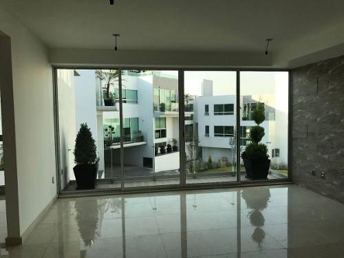 club lomas verdes, amplia e iluminada casa en condominio para estrenar
