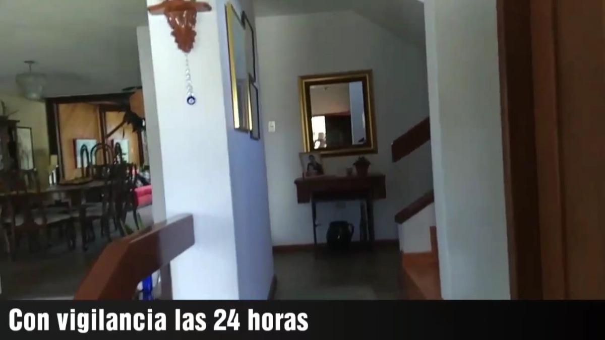club los chillos espectacular casa 3 h , 330 m2 , 550m2 terr