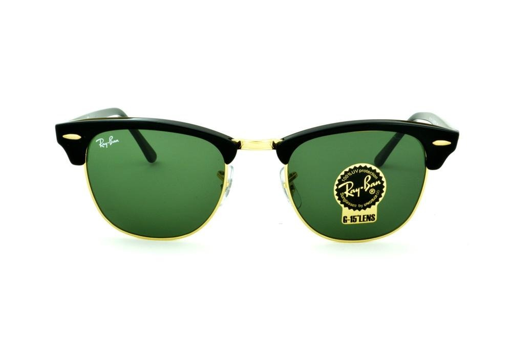 c694ca5116 2 Oculos Rayban Club Master Original Promoçao + Frete Gratis - R  323