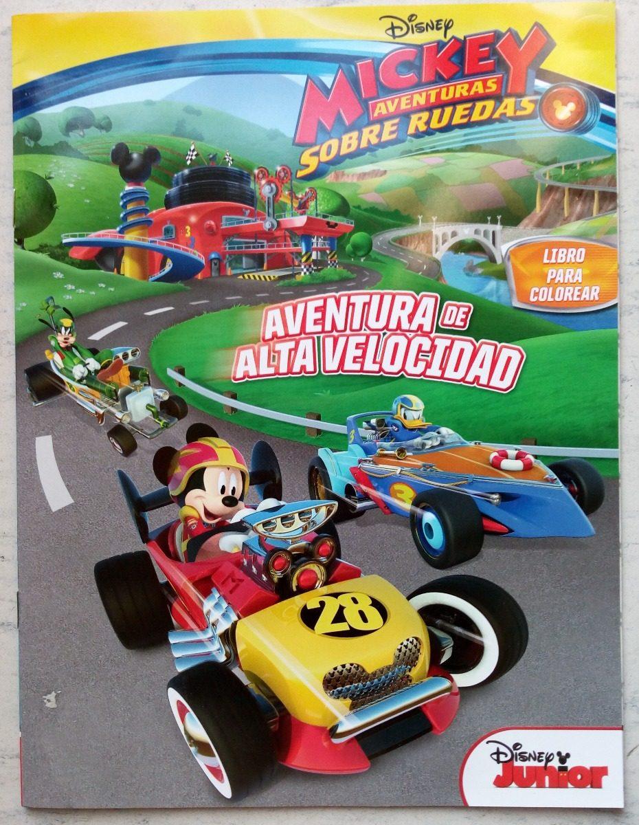 Club Mickey Mouse Set 20 Libros Iluminar Colorear C Envio Pi ...