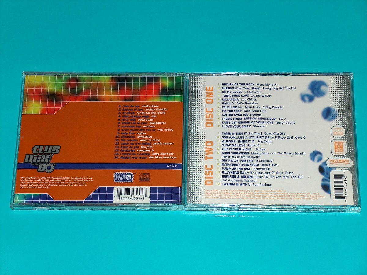 Club Mix 8 Cd's Como Nuevo! 80's 90's Eurodance Elpusty - S/ 35,00