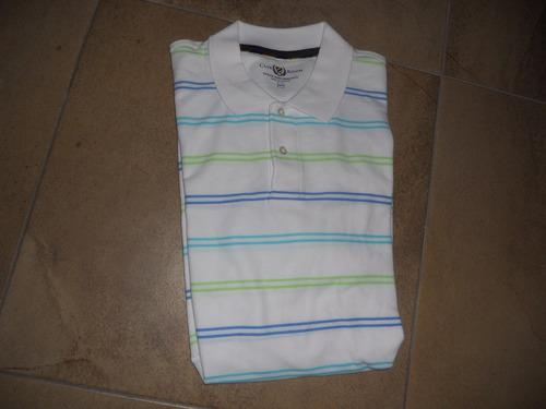 club room camiseta con cuello manga corta talla xxl nueva
