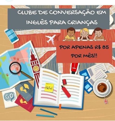 clube de conversação em inglês
