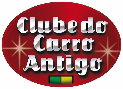 clube do carro antigo do brasil - kit 01 [ boné+adesivo ]