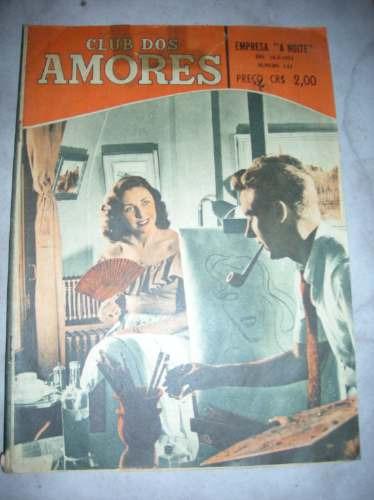 clube dos amores  - nº 143 - empresa  ``a noite``