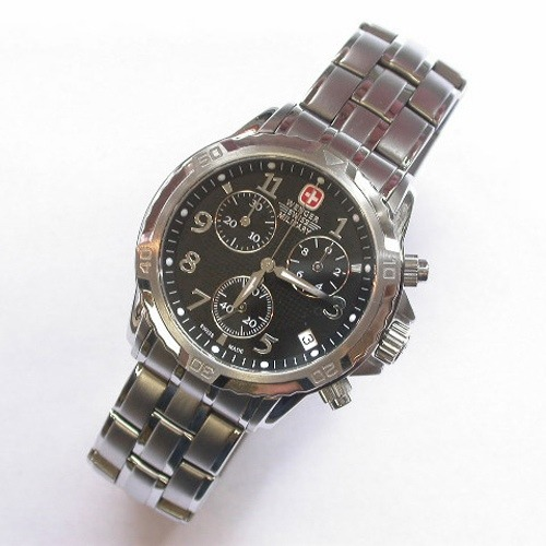 (clubhouse44) reloj wenger swiss military modelo 79136