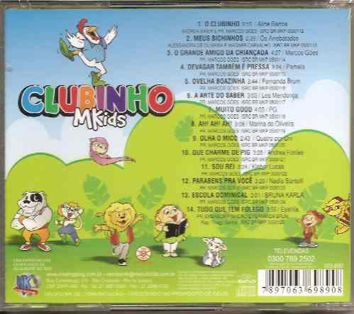 clubinho mkids -vários artistas- raridade - cd -mk publicitá