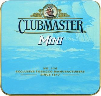clubmaster mini blue pack x5 cigarros suaves cigarrillos