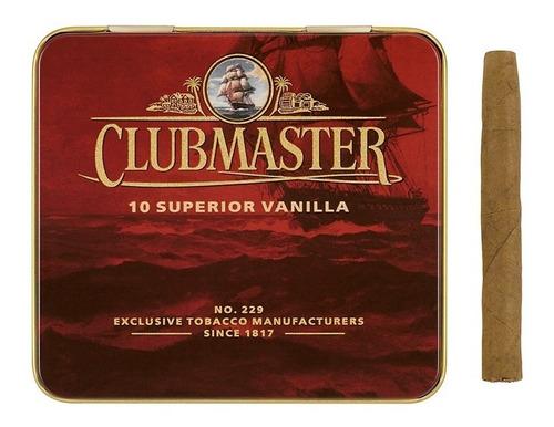 clubmaster superior vainilla x10 cigarros cigarrillos tabaco