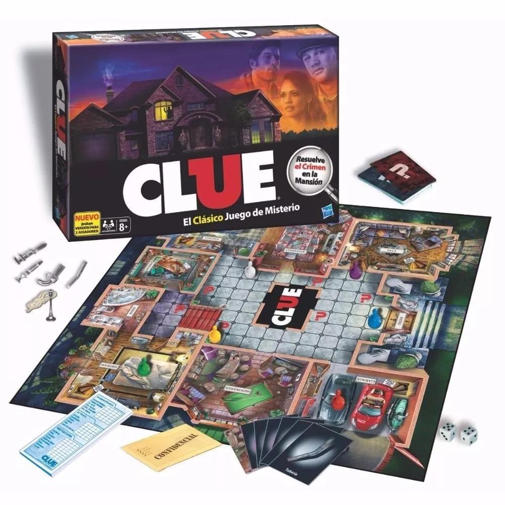 Clue Clasico Quien Es Culpable Hasbro Juego De Mesa Hasbro 599