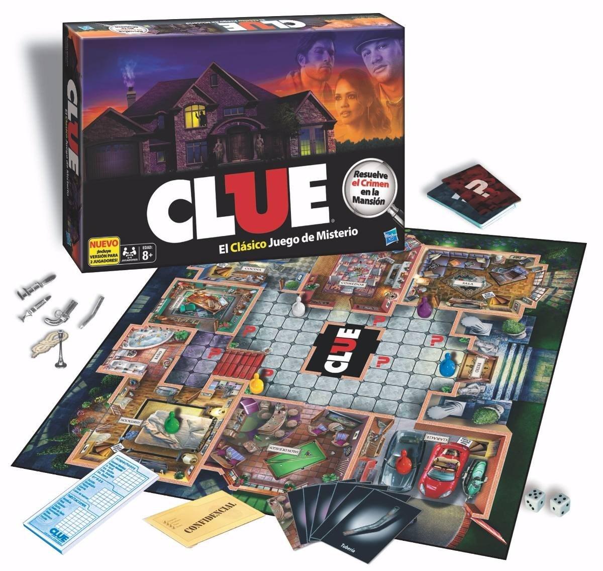 Clue Juego De Mesa Original Nuevo De Hasbro Bs 2 500 00 En