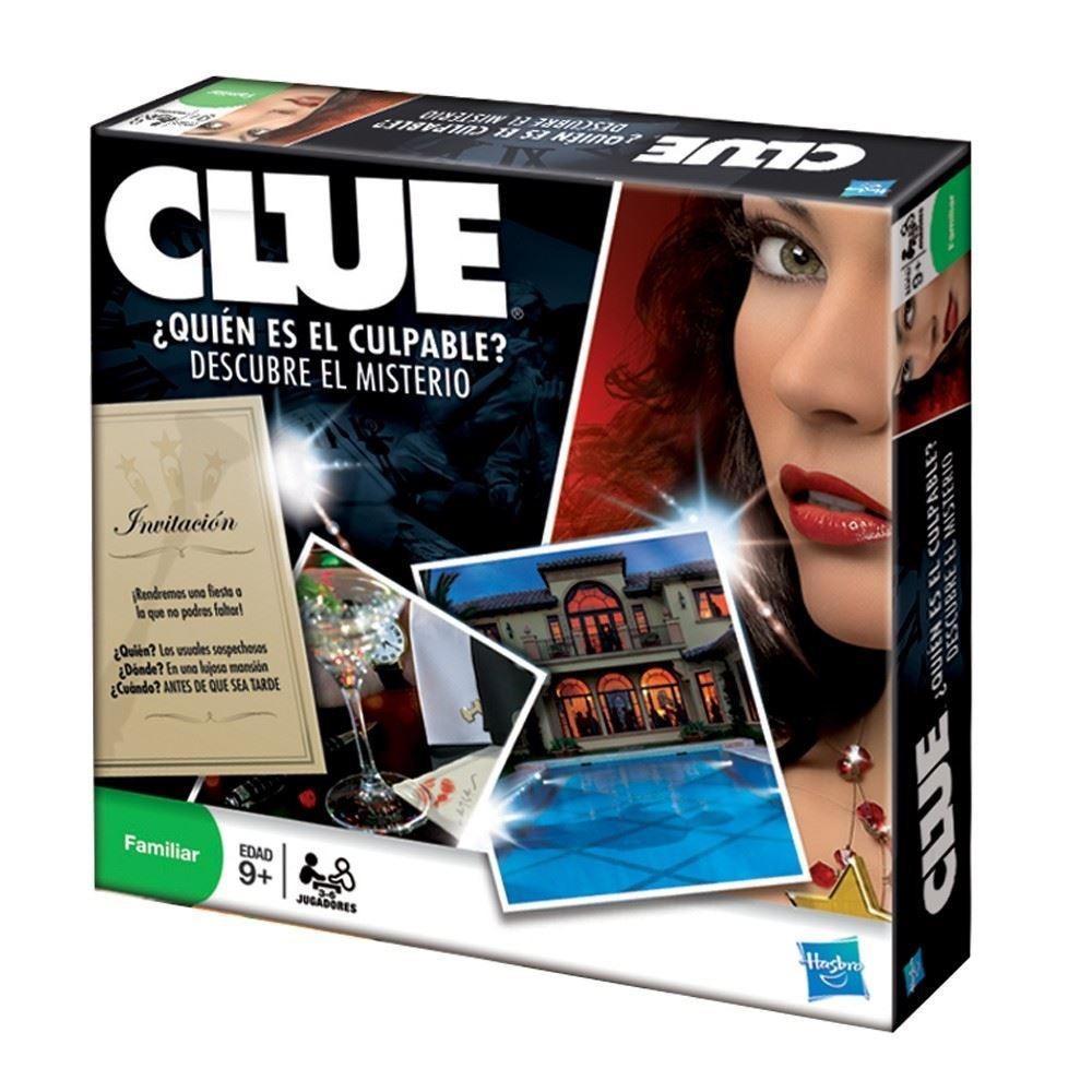 Clue Popular Quien Es El Culpable Orig Hasbro Juego Mesa 988
