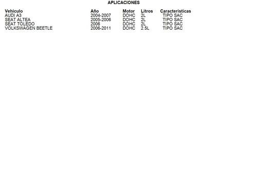 clutch audi a3 2004 - 2007 2l di luk tipo sac
