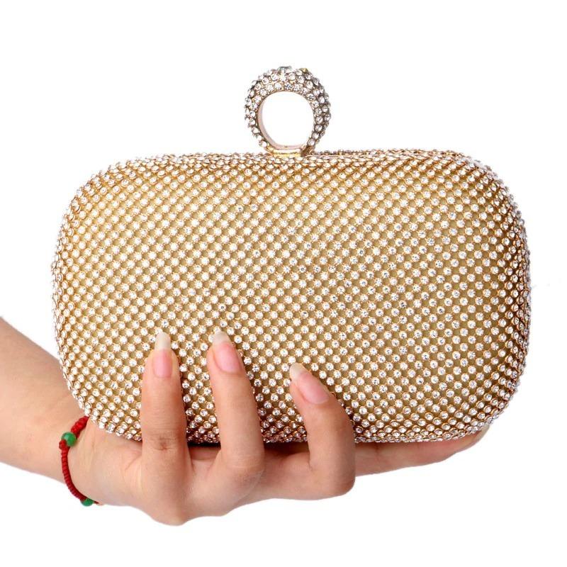 ffbd83618 clutch bag bolsa de mão festa strass brilhante madrinha. Carregando zoom.