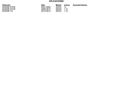clutch dodge atos 2005 - 2012 1.1l luk