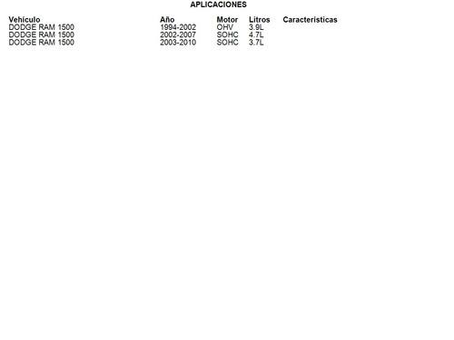 clutch dodge ram 1500 2003 - 2010 3.7l luk
