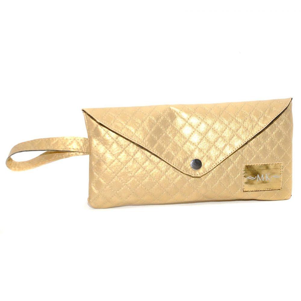 2a020c596 Clutch Dourado Consultora E Diretora Mary Kay - R$ 25,90 em Mercado ...