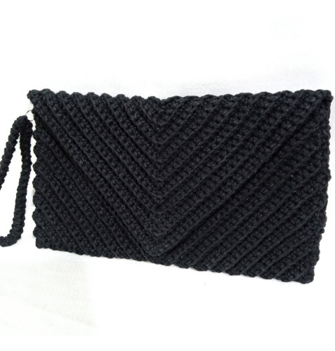 clutch envelope preto