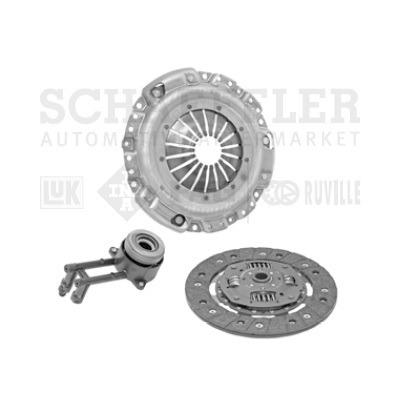 clutch ford ecosport 2004 - 2010 2l luk tipo pro
