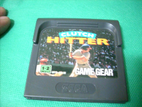 clutch hitter original para game gear