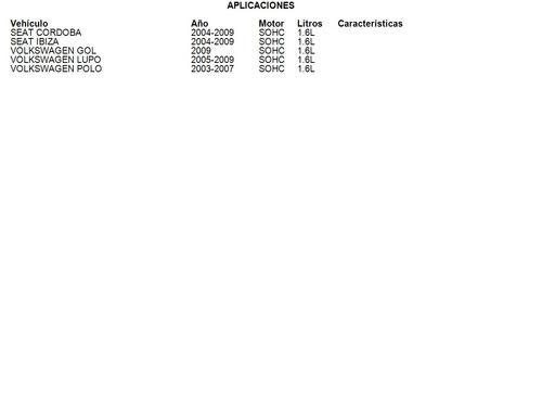 clutch volkswagen sportvan 2007 - 2010 1.6l luk