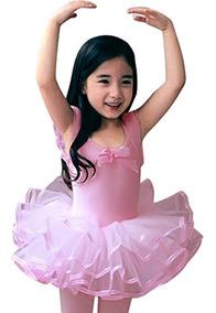 Cm Kid Niñas Ballet De Manga Corta Vestido