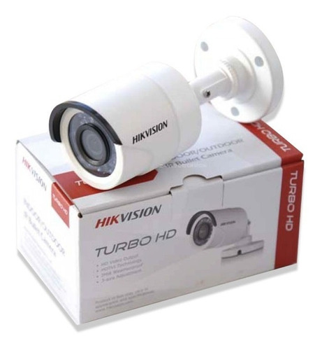 càmara bala hikvision turbo hd 720 + video balum + fuente