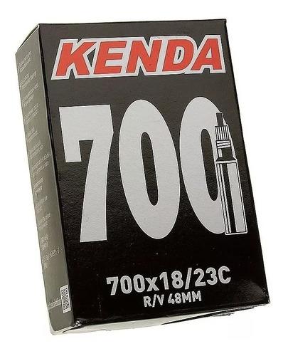 câmara de ar 700x18/23 presta 48mm kenda