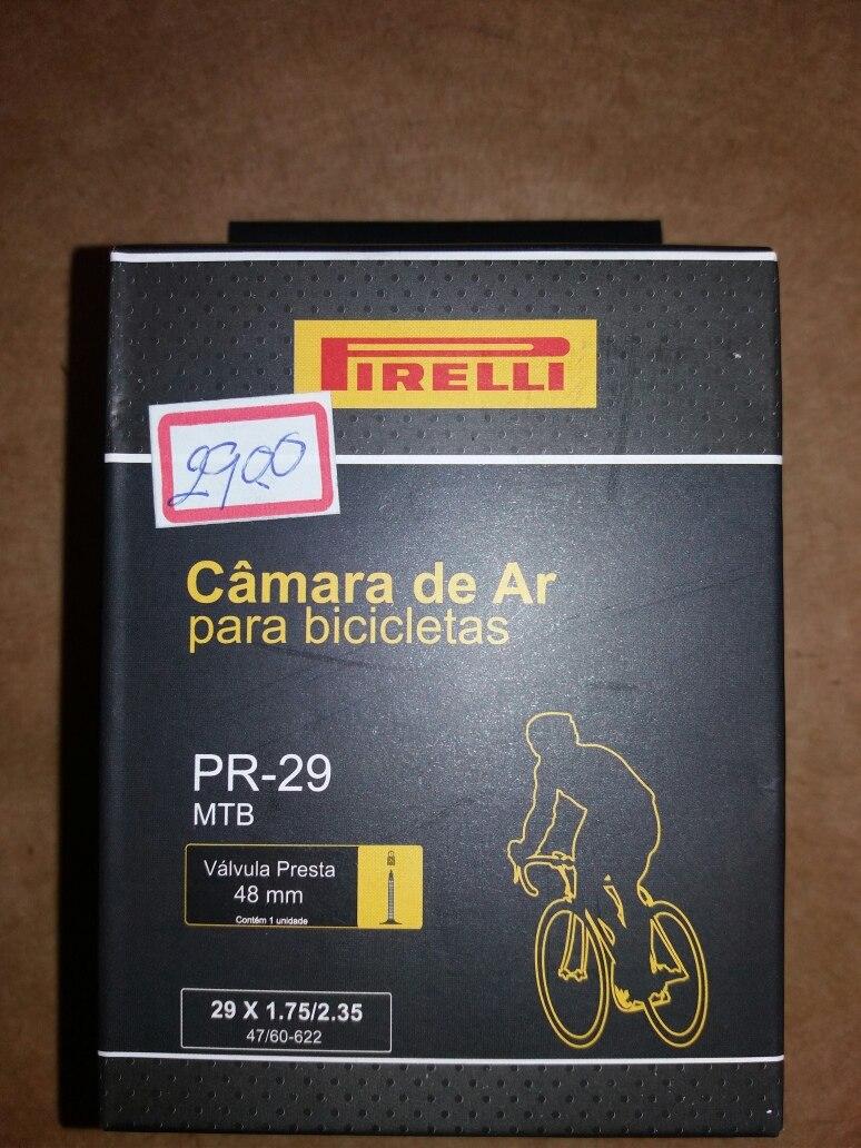 679f99686 câmara de ar aro 29 com válvula presta pirelli. Carregando zoom.