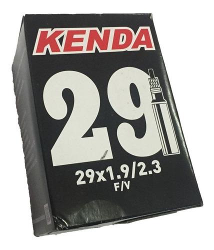 câmara de ar bike mtb aro 29 kenda válvula presta 30mm.