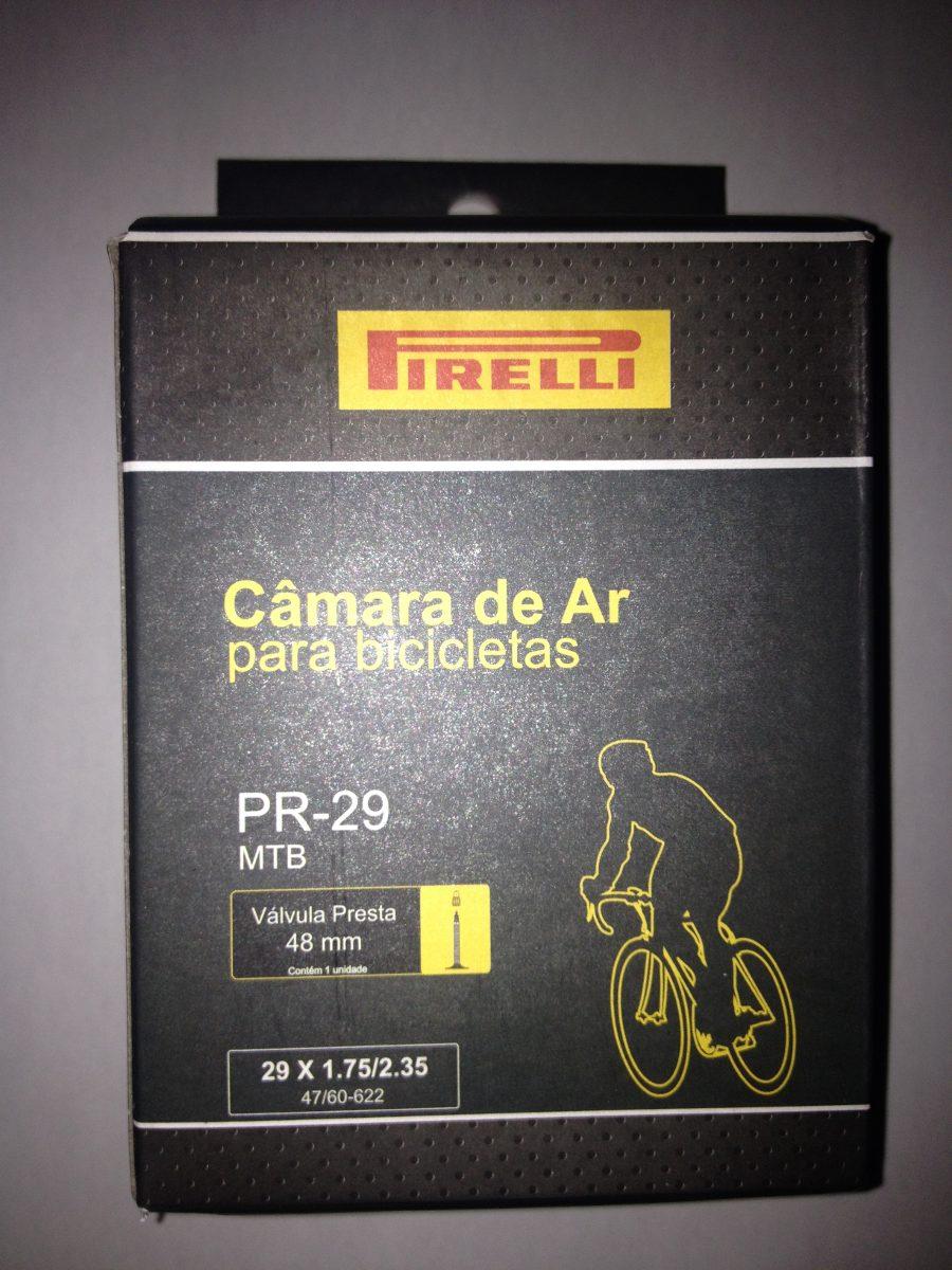 dfd764fa8 Câmara De Ar Pirelli Bike Mtb Aro 29 Presta Bico Fino 48mm - R  28 ...