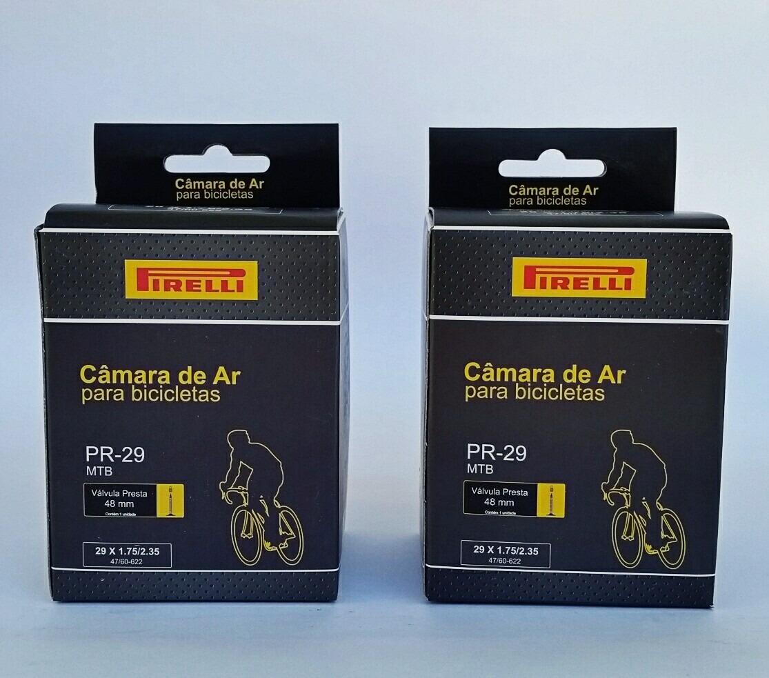 490e6ab5f câmara de ar pirelli mtb aro 29 c  valvula presta 48mm. Carregando zoom.