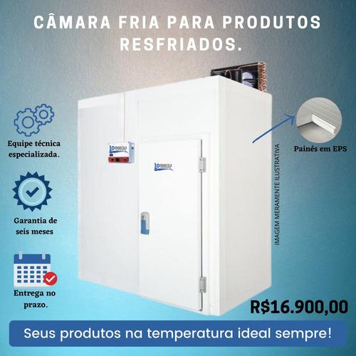 câmara fria 2x1 para produtos resfriados