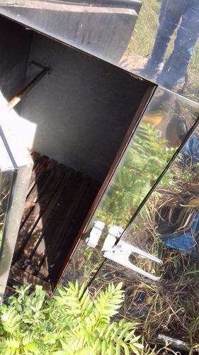 câmara fria em inox com duas portas