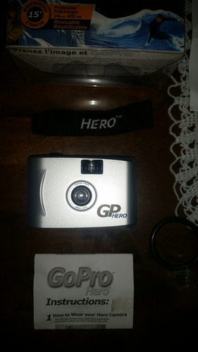 càmara go pro hero 35mm / 100% original / totalmente nueva