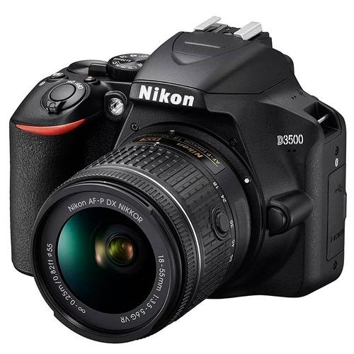 càmara nikon d3500  + 32gb + estuche.