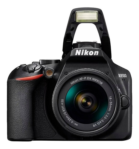 càmara nikon d3500 kit 18-55mm 24,2mpx full hd.
