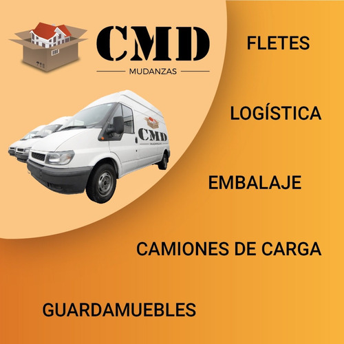 cmd mudanzas, fletes, logistica, bauleras y depósitos