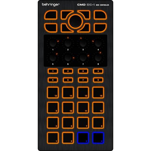 cmddc1 - controladora midi usb dj cmd dc 1 - behringer