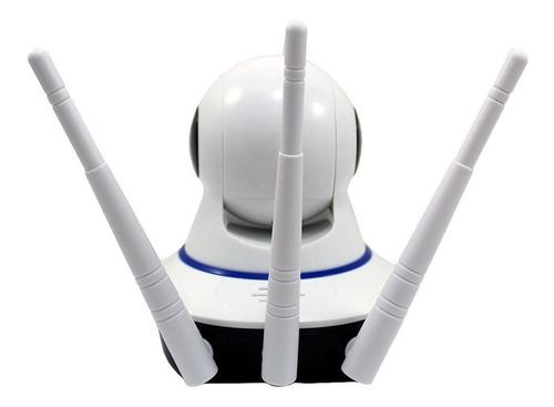 câmera 360° ip robo wifi visão noturna celular / jt-160bw-3a