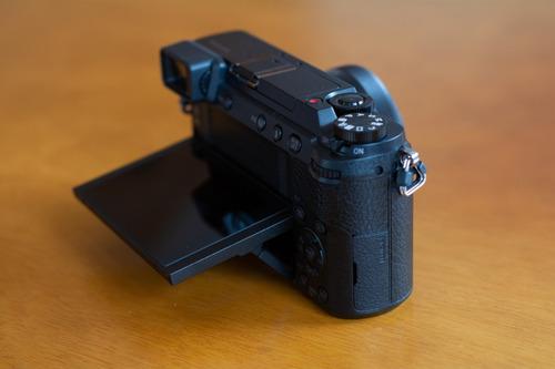 câmera 4k panasonic lumix gx80/gx85 (corpo)