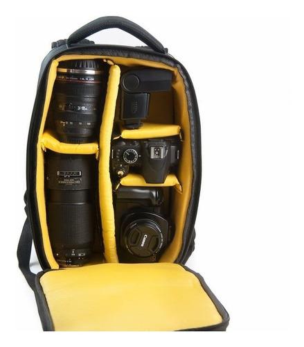 câmera acessórios!!! mochila para