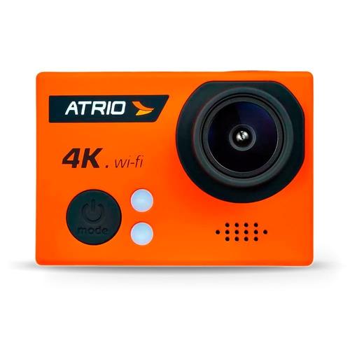 câmera ação atrio dc185 fullsport 4k tela lcd usb sd
