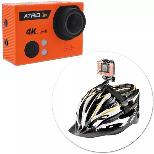 câmera ação atrio dc185 fullsport 4k tela lcd usb sd wif