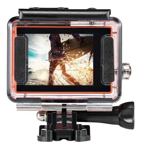 câmera ação filmadora atrio dc185 4k 16mp entradas usb promo