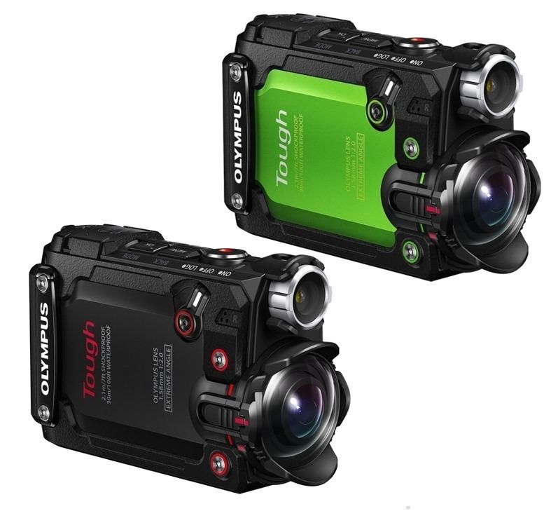 Câmera Ação Olympus Tg-tracker Lcd 1 5'' 4k Wifi Gps P/ Agua