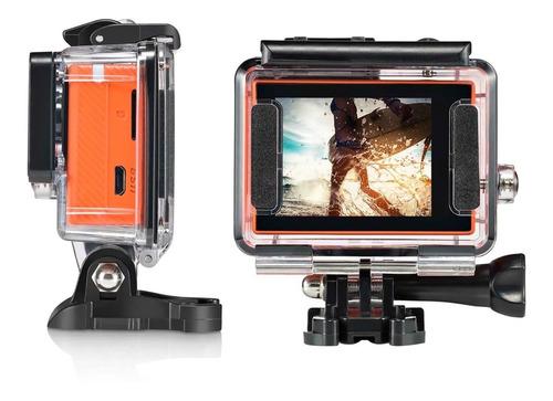 câmera action sport atrio filma 4k prova d'agua 1080p 90fps