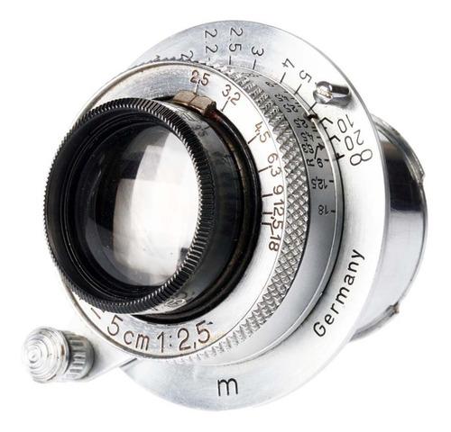 câmera analógica 35mm leica i (c) com 50mm f2.5 (1930)